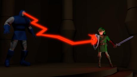 Darkseid vs Link