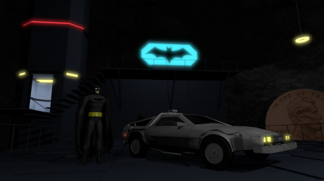 Batcave Time Machine