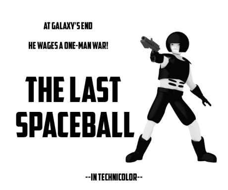 Spaceball Trooper Poster