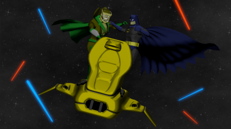 Batman vs Serpentor