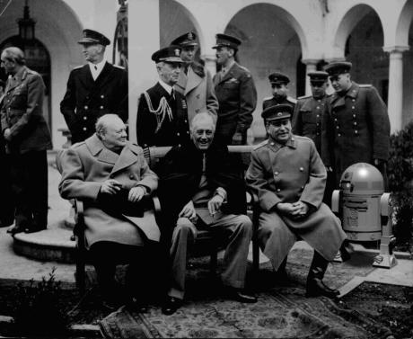 Artoo and Big Three at Yalta