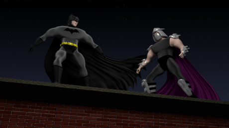 Batman v Shredder