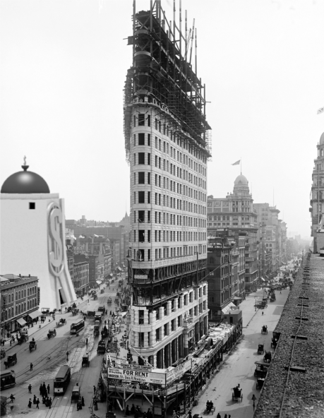 Flatiron 1902 with Money Bin