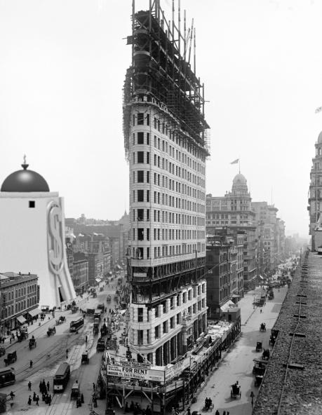 Flatiron 1902 with Money Bin