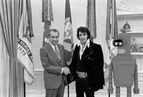 Nixon Elvis Bender done